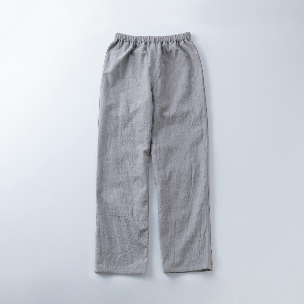 節織薄墨パンツ1