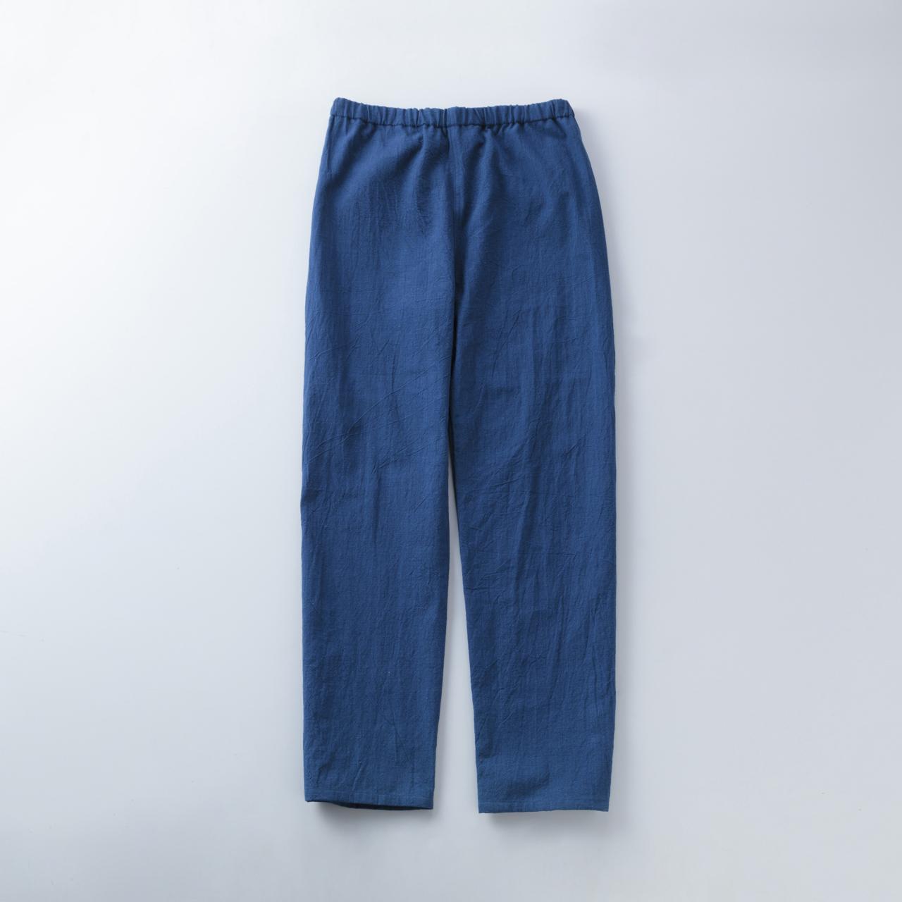 節織中紺パンツ1